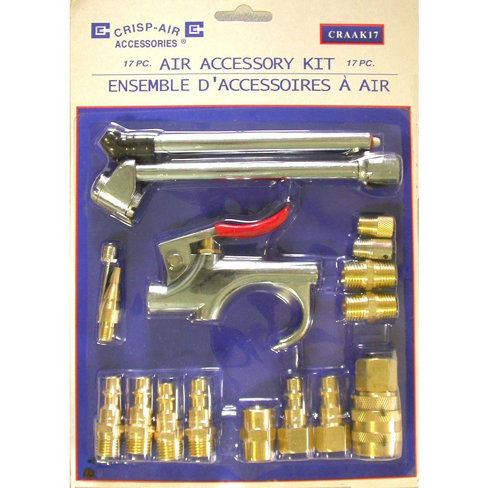 Crisp-Air 17-Piece Air Accessory Kit