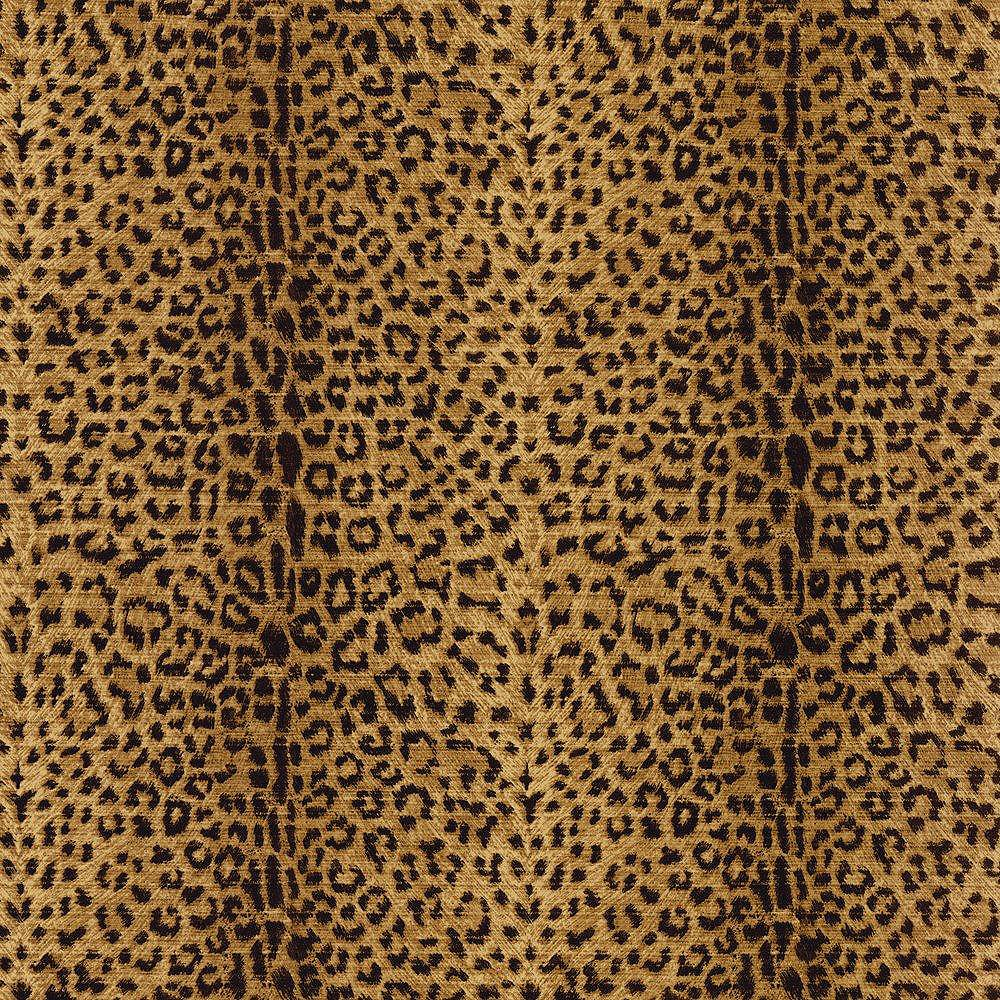 The Wallpaper Company 20.5 In. W Black Animal Print Wallpaper