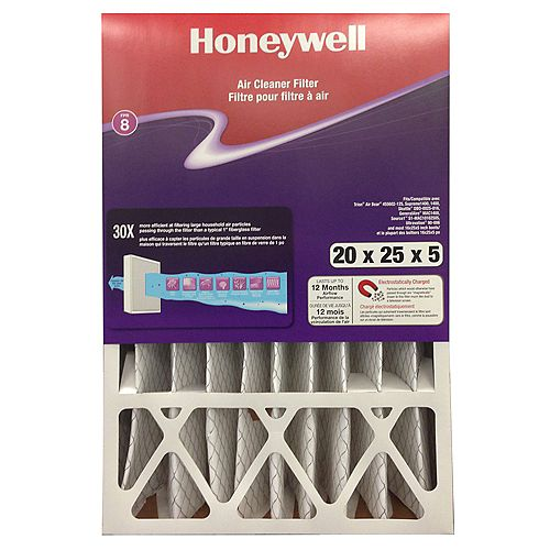 Air Cleaner Filter 20x25x5 Inch