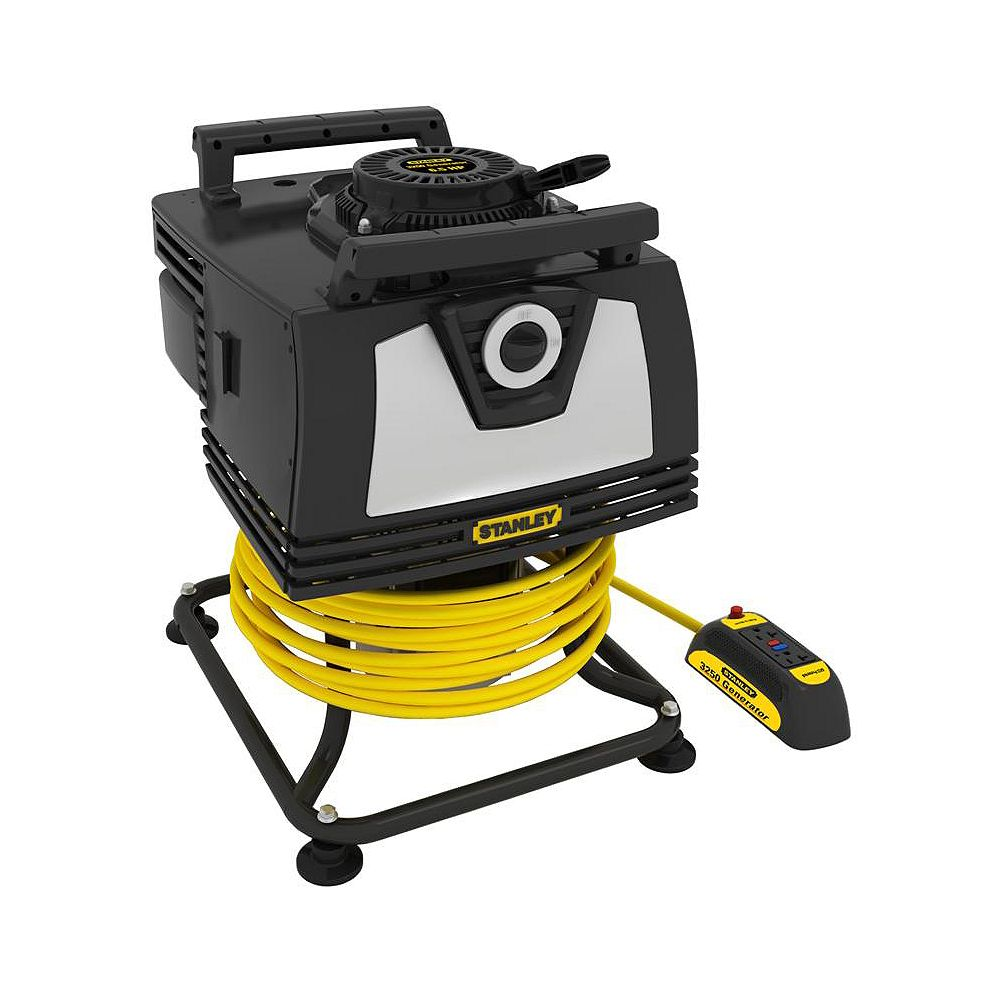 STANLEY 3250W Portable Handheld Generator with Removable Control Panel
