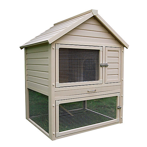 Ecoconcepts Huntington Townhouse Rabbit Hutch
