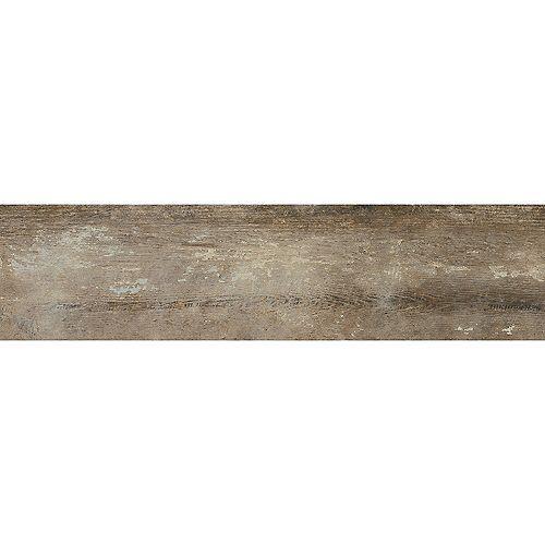 Enigma 6-inch x24-inch Farmhouse Cafe Plank HD Porcelain Tile