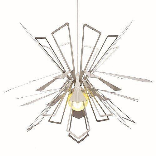 Bendant Pendant Lamp en Blanc