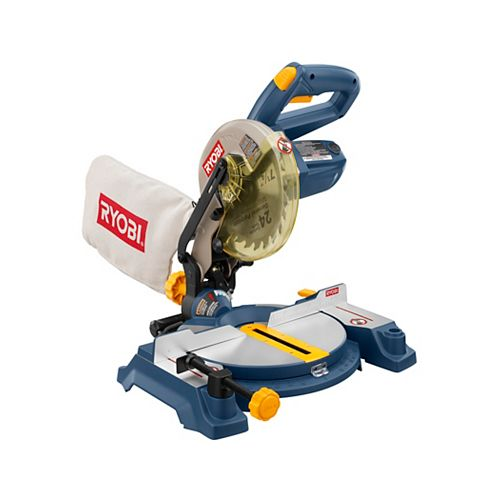 7-1/4 in. Miter Saw With Laser