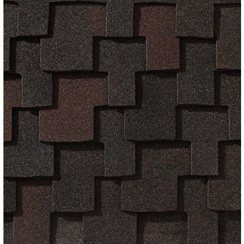 Grand Canyon® Black Oak Lifetime Designer Shingles (16.6 sq. ft. per bundle)