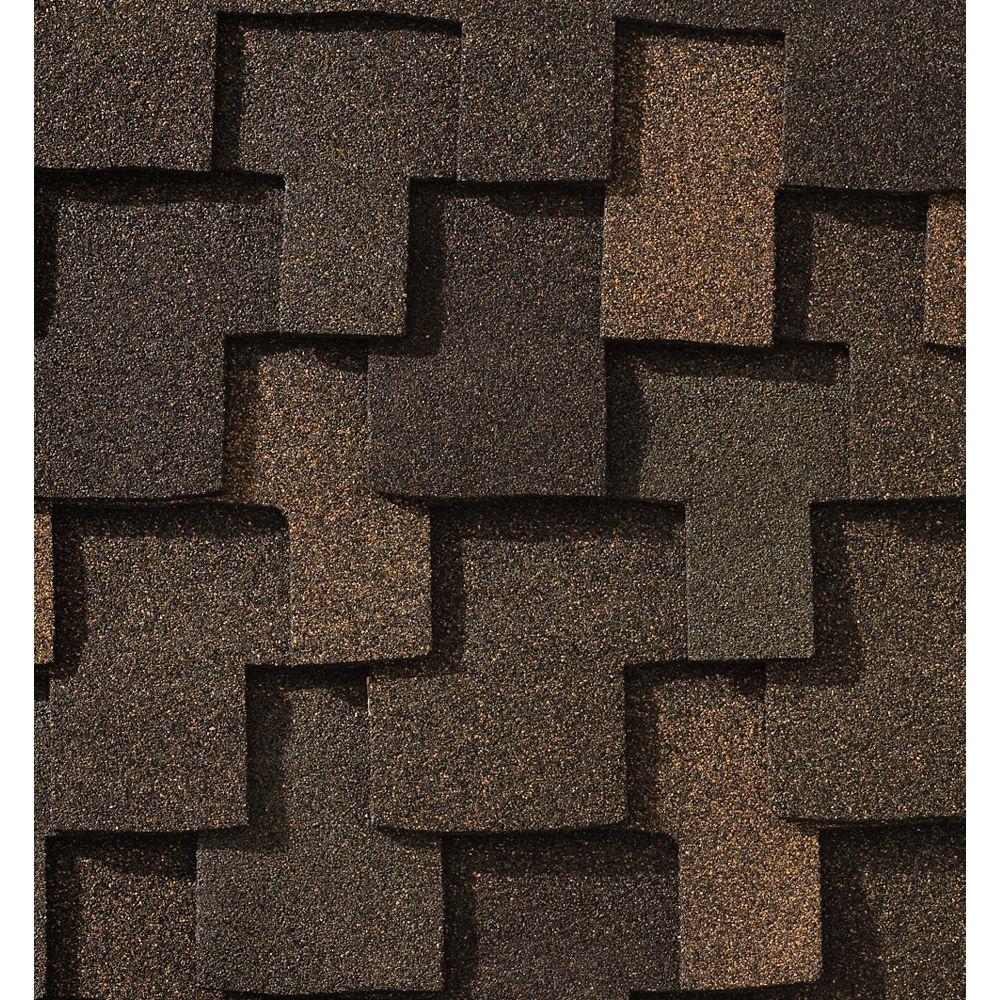 GAF Grand Canyon® Stone Wood Lifetime Designer Shingles (16.6 sq. ft. per bundle)