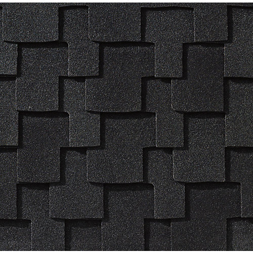 Grand Sequoia® Charcoal Blend Lifetime Designer Shingles (20 sq. ft. per bundle)