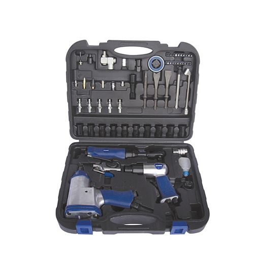 62-Piece Air Tool and Accessory Kit
