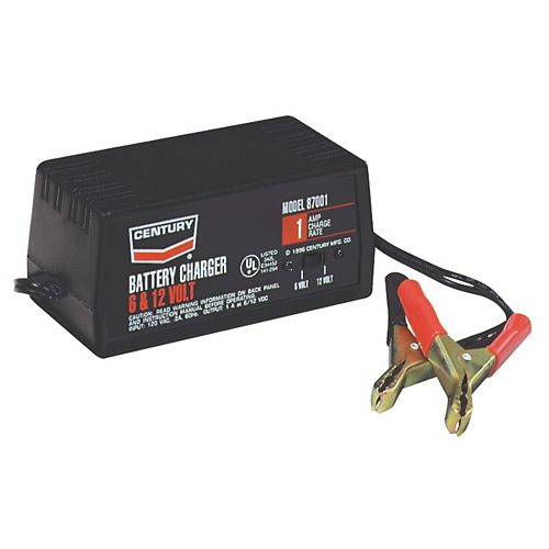 Chargeur Century 1A, 6/12V (87001)