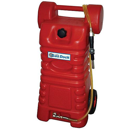 Chariot à gaz portable professionnel de 26 gallons pour la manutention et l'entreposage du carburant