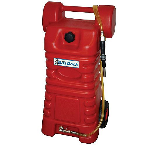 26-Gal. Professional Portable Gas Caddy Fuel Handling and Storage