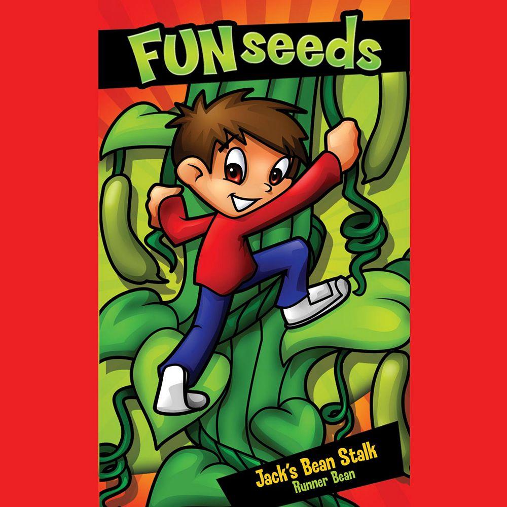 Mr. Fothergill's Seeds Fun Seeds Jack'S Beanstalk (Scarlet Emperor)
