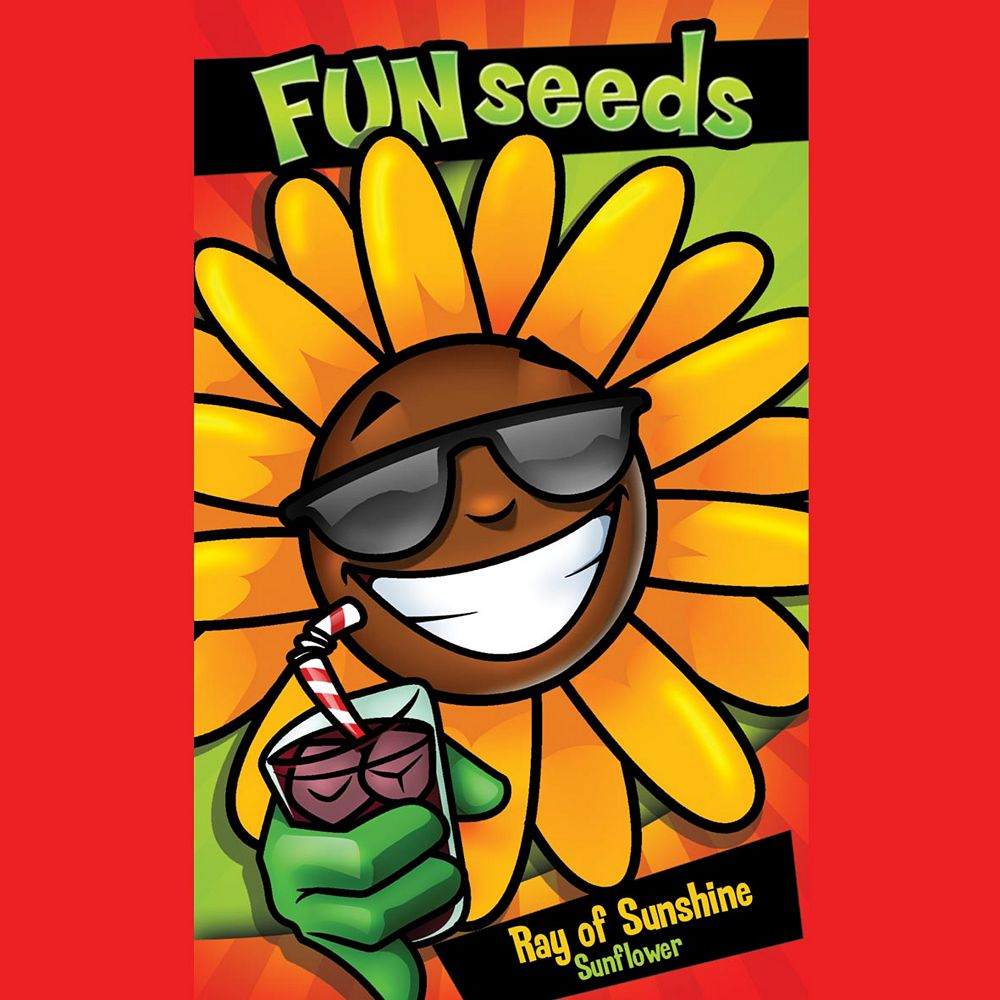 Mr. Fothergill's Seeds Fun Seeds Ray of Sunshine              (Giant Single Sunflower)