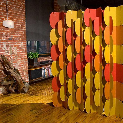 Nomad System Separations de Pièce, Orange Pantone 1525 U