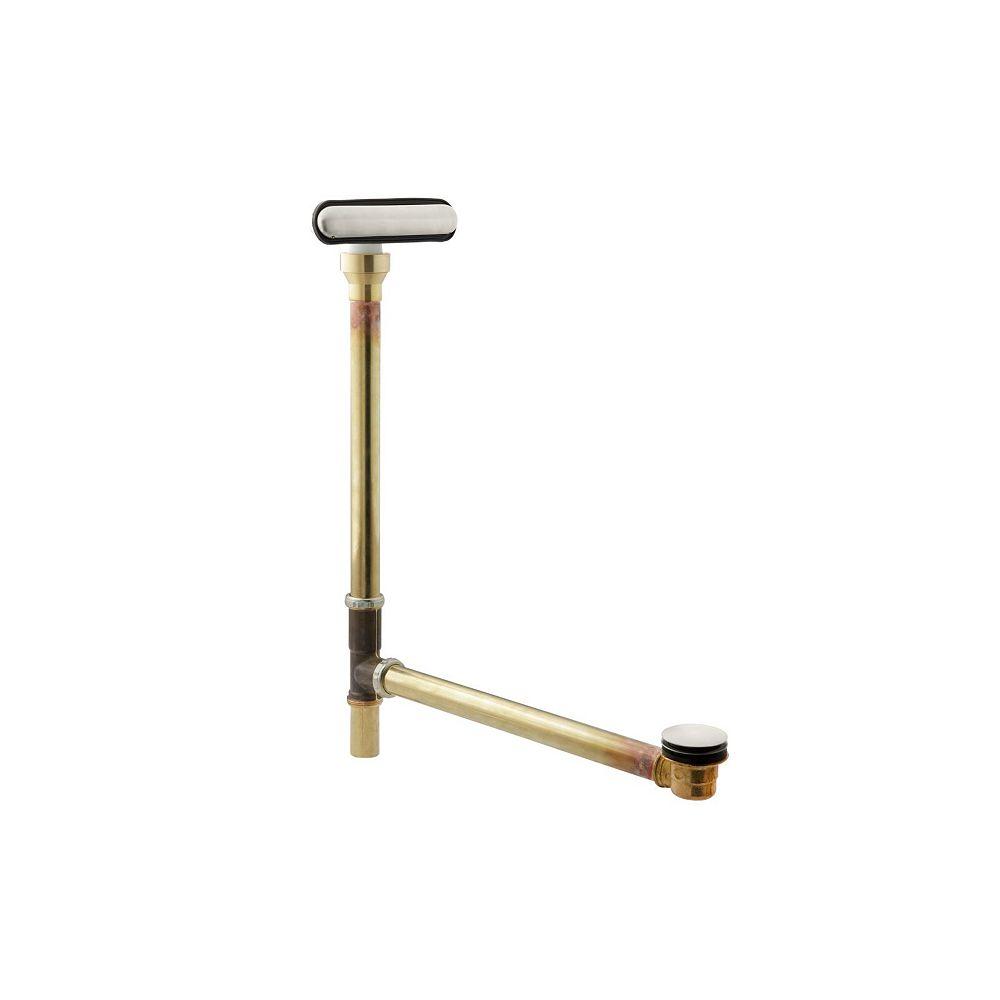 KOHLER Clearflo Slotted Overflow Brass Bath Drain