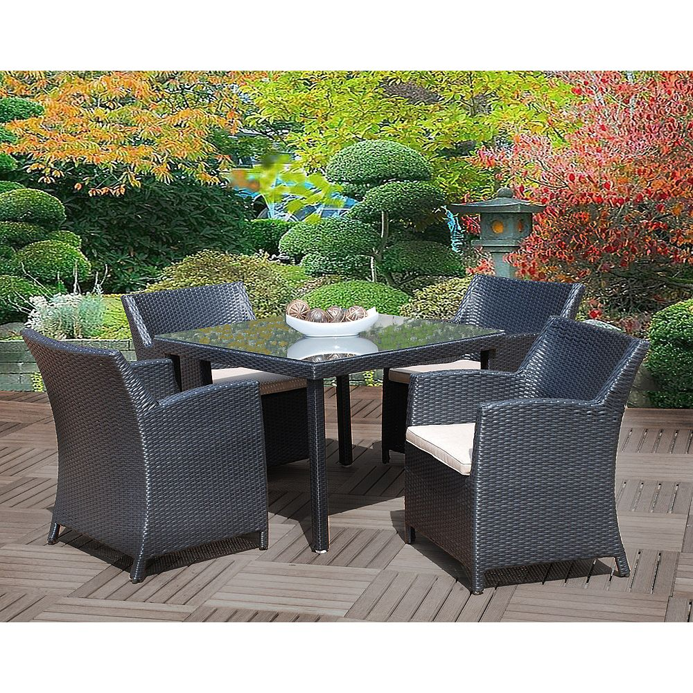 Cd Casual Bali 5-Piece Patio Dining Set