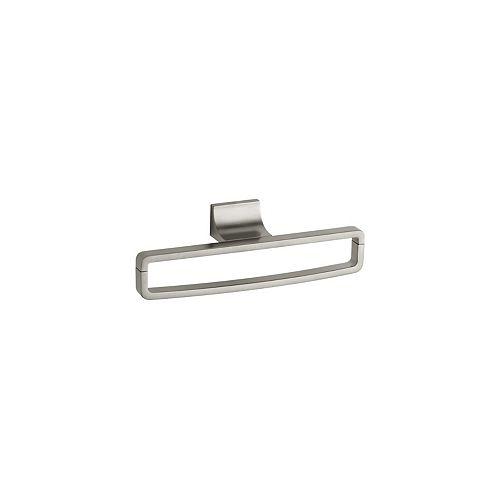 KOHLER Loure Towel Ring in Vibrant Brushed Nickel