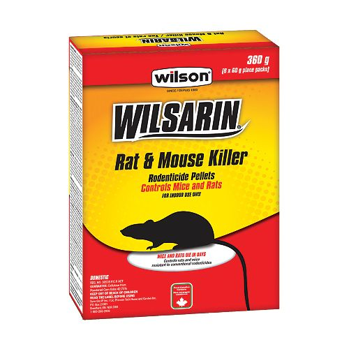 Wilsarin Rat & Mouse Killer Pellets
