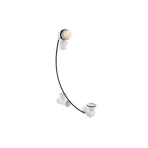 KOHLER Clearflo Cable Bath Drain, Less PVC Tubing