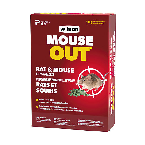 Boulettes de rodenticide Wilsarin