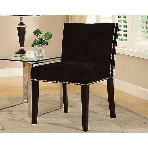 Nadia Accent Chair - Black