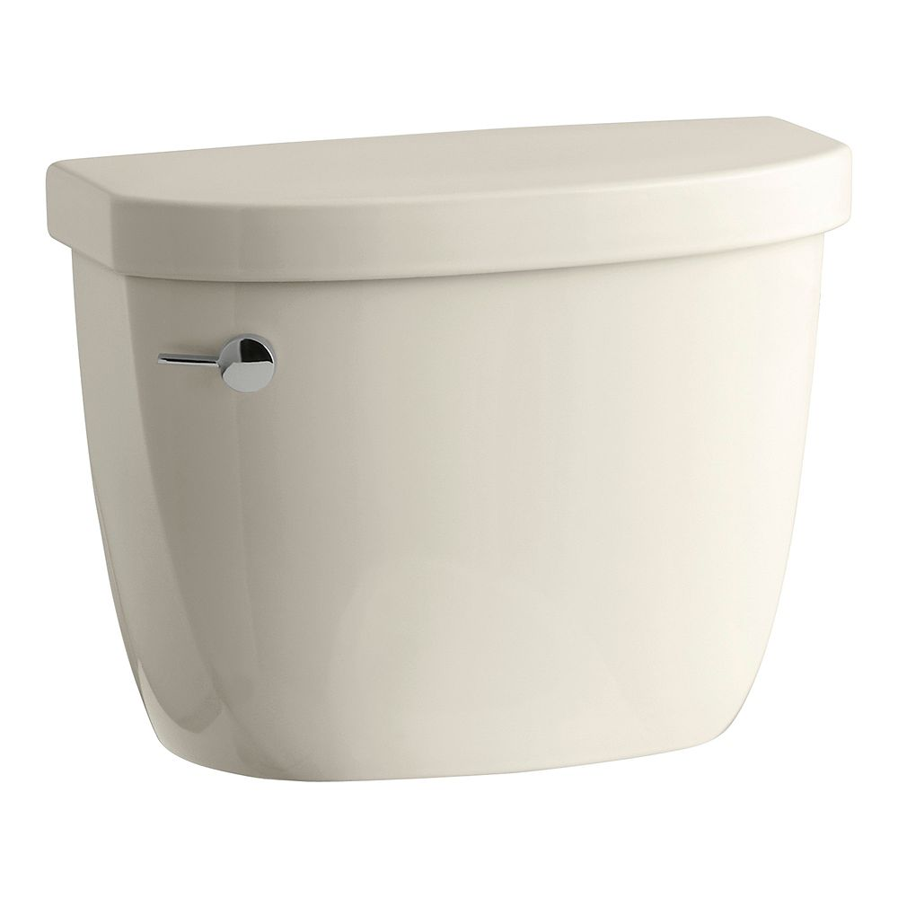 KOHLER Cimarron 1.28 GPF 60-inch L x 32-inch W x 19-inch H Single Flush Toilet Tank Only in Almond