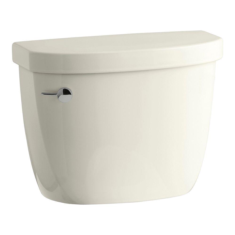 KOHLER Cimarron 1.28 GPF Single Flush Toilet Tank Only with AquaPiston Flushing Technology in Biscuit