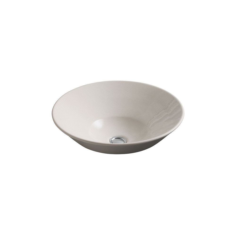 KOHLER Conical Bell(R) vessel or wall-mount bathroom sink