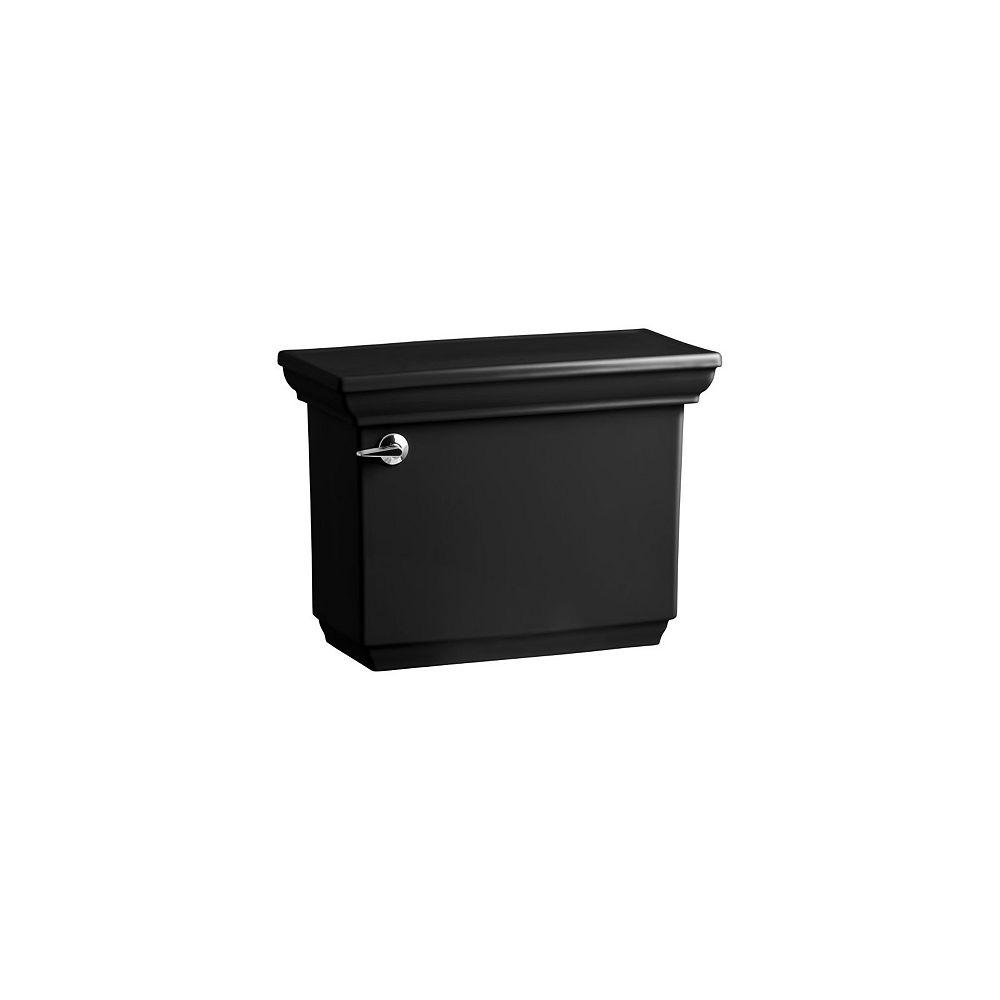 KOHLER Memoirs 1.28 GPF Single Flush Toilet Tank Only in Black