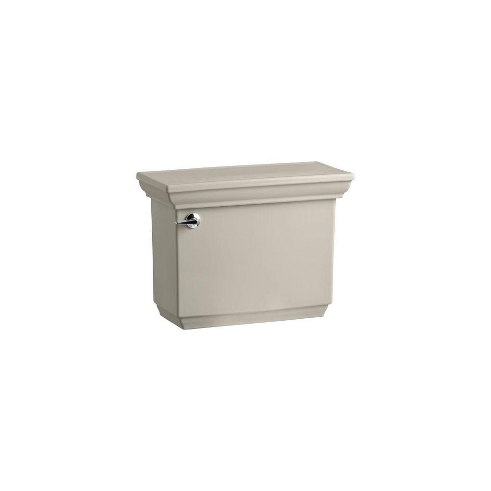KOHLER Memoirs 1.28 GPF Single Flush Toilet Tank Only with AquaPiston Flush Technology in Sandbar