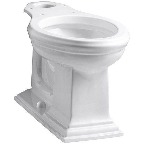 KOHLER Memoirs Comfort Height Elongated Toilet Bowl Only in White