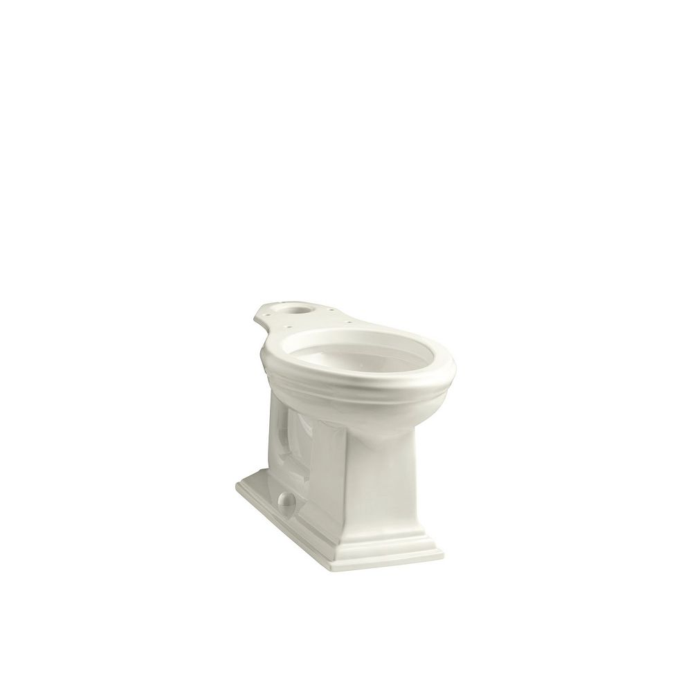KOHLER Memoirs Comfort Height Elongated Toilet Bowl Only in Biscuit