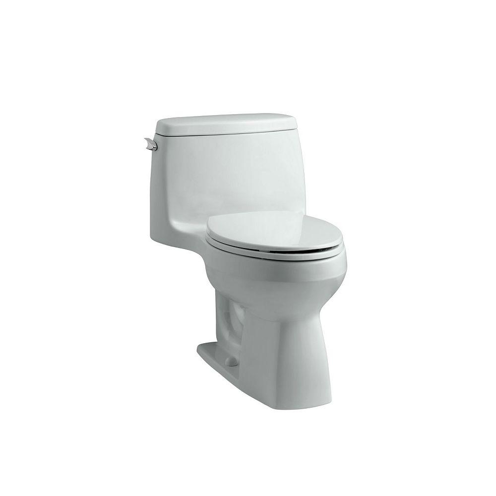 KOHLER Santa Rosa Comfort Height 1-Piece 1.28 GPF Single Flush Compact Elongated Toilet in White