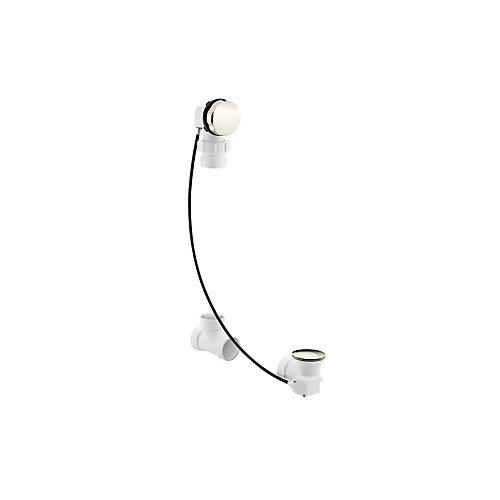 Clearflo Cable Bath Drain, Less PVC Tubing