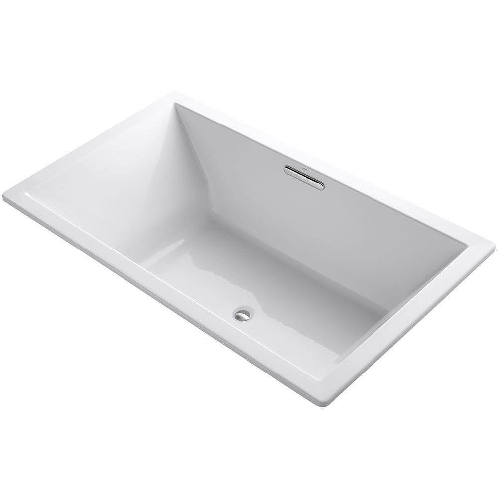Kohler Underscore R Rectangle 72 X 42 Drop In Bath With Center Drain The Home Depot Canada