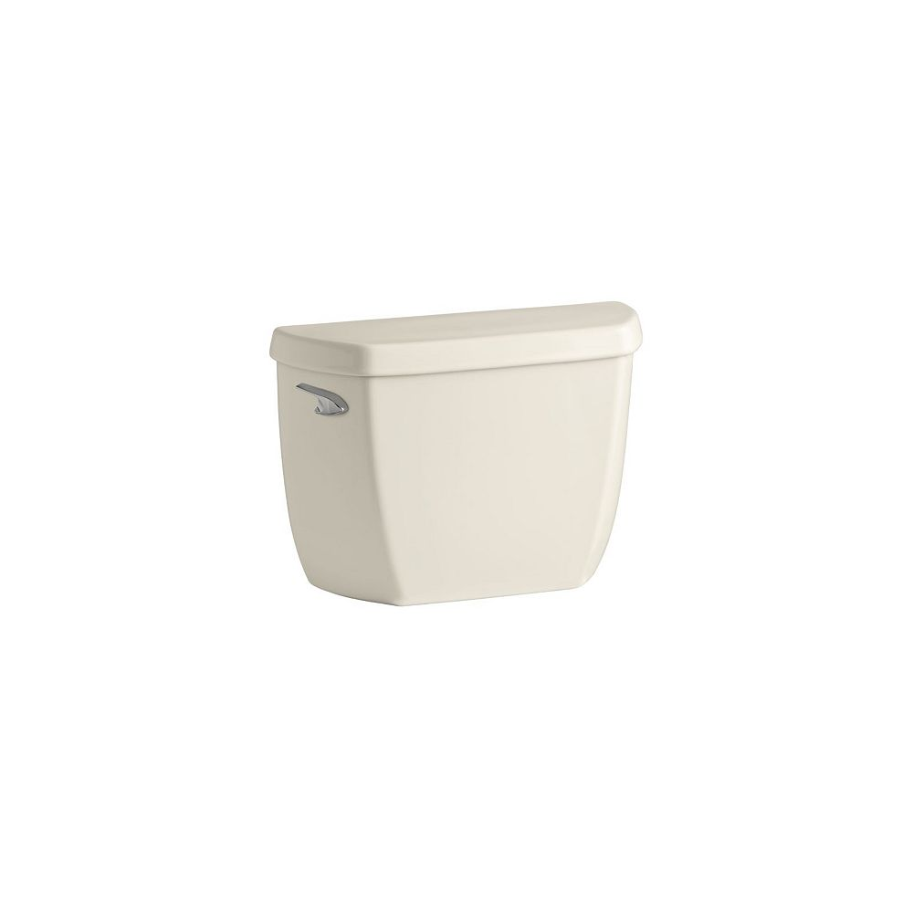 KOHLER Wellworth Classic 4.8 LPF Single Flush Toilet Tank Only with Class Five Flushing in Almond