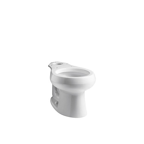 Wellworth Round-Front Toilet Bowl Only
