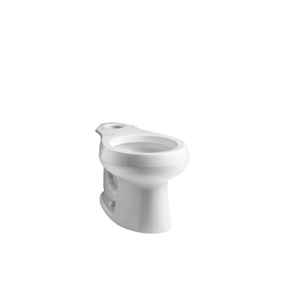 KOHLER Wellworth Round-Front Toilet Bowl Only