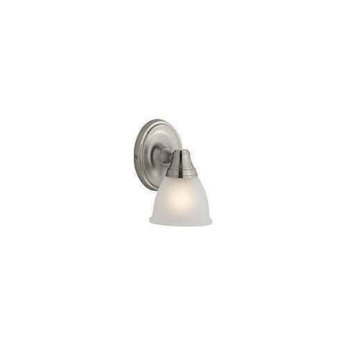 Transitional Single Wall Sconce For Faucet Line