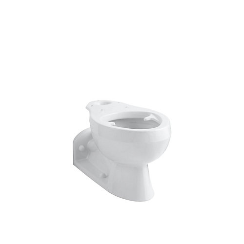 Barrington Pressure Lite Elongated Seatless Toilet Bowl Only
