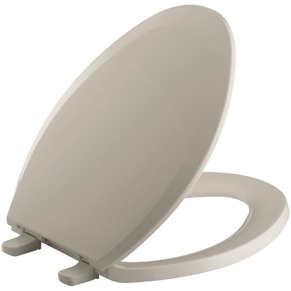 KOHLER Lustra Elongated Toilet Seat with Q2 Advantage