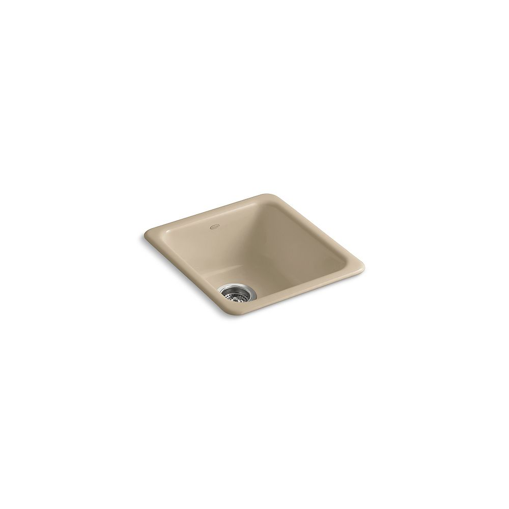 KOHLER Iron/Tones(R) Self-Rimming (17 Inch X 18-3/4 Inch) Or Undercounter (14 Inch X 15-3/4 Inch) Kitchen Sink