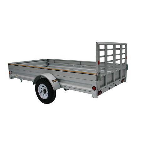5' x 10' Galvanized Steel Utility Trailer