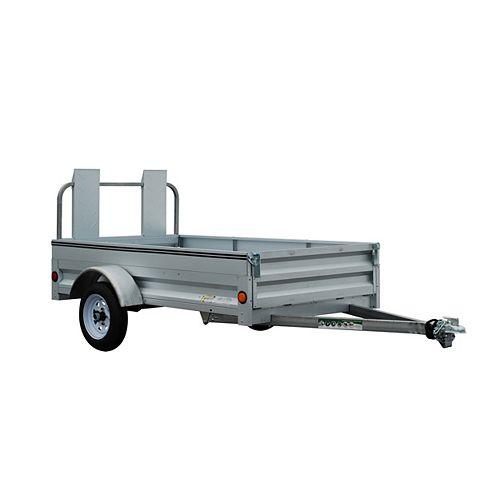 4' x 7' Galvanized Steel Utility Trailer