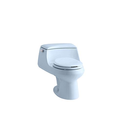 San Raphael 1-piece 1.6 GPF Single Flush Round Bowl Toilet