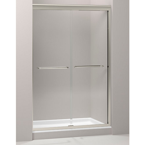 Fluence(R) 3/8 Inch Thick Glass Bypass Shower Door