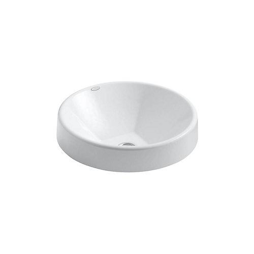 Inscribe(R) Wading Pool(R) 16.5 inch round bathroom sink