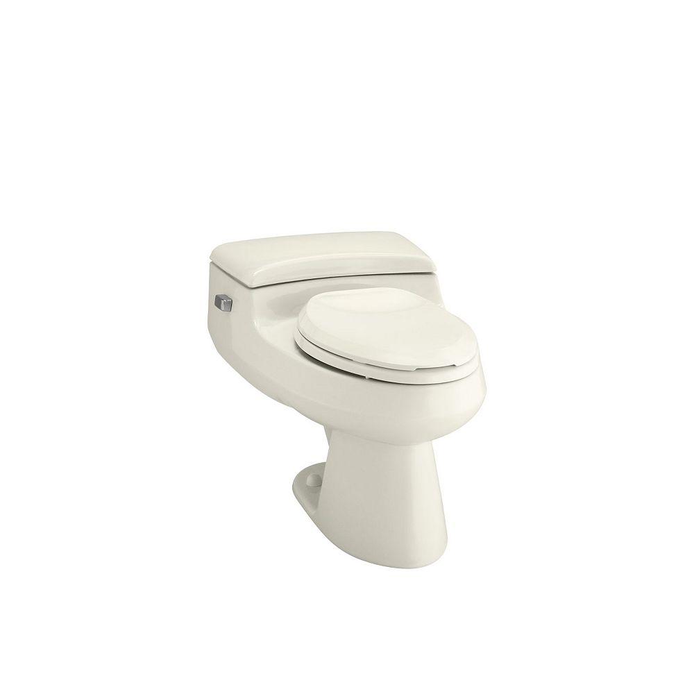 KOHLER San Raphael 1-piece 1.0 GPF Single Flush Elongated Bowl Toilet