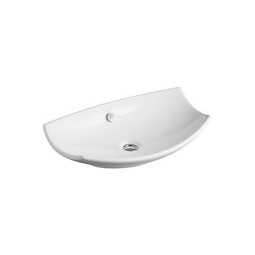 Leaf(TM) vessel bathroom sink