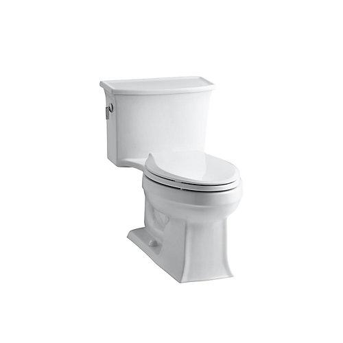 Archer 1-piece 4.8 LPF Single Flush Elongated Toilet in White